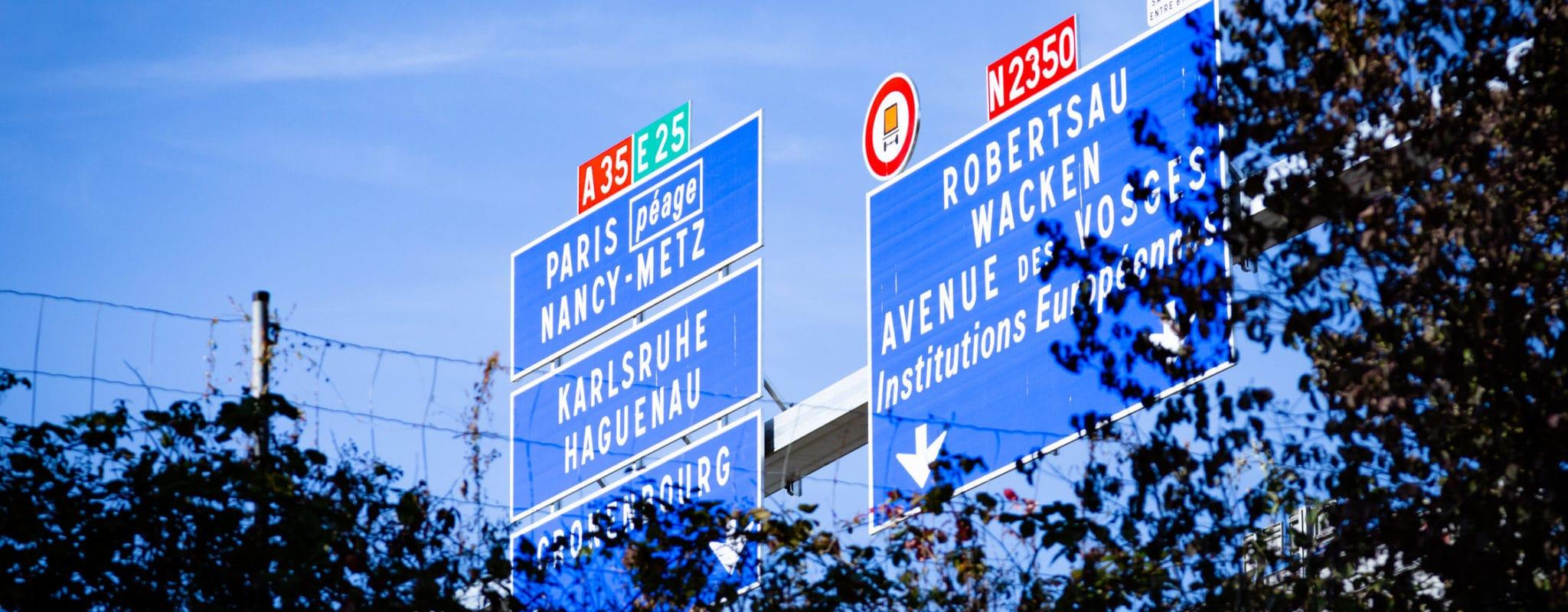 Sur les rives de l'A35, comment des Strasbourgeois cohabitent avec l'autoroute