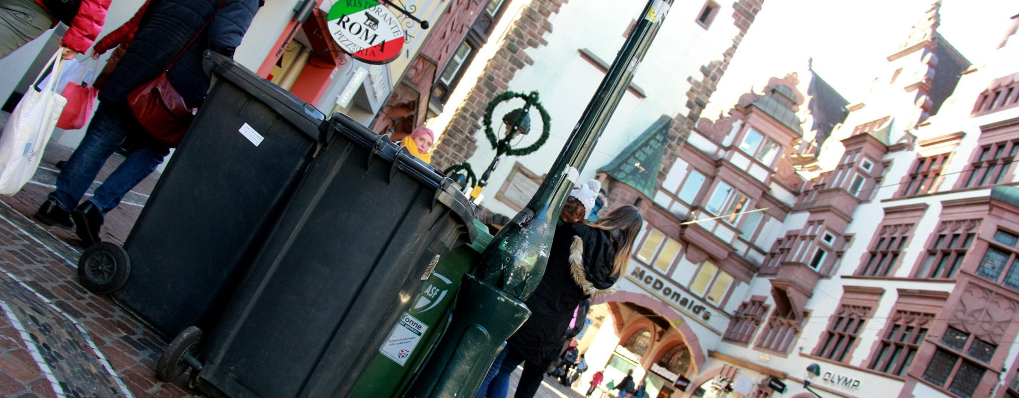 Zéro déchet : Comment Fribourg met sa voisine strasbourgeoise à l'amende