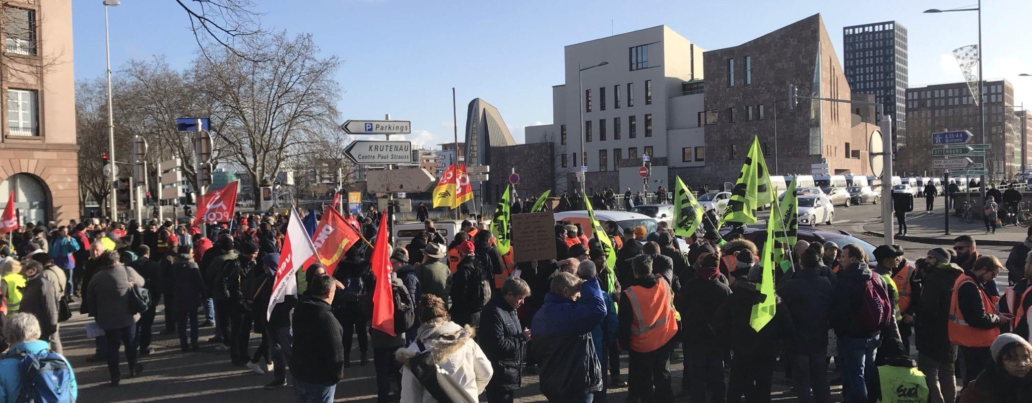 Plus de 3000 personnes ont manifesté pour la deuxième fois contre la réforme des retraites