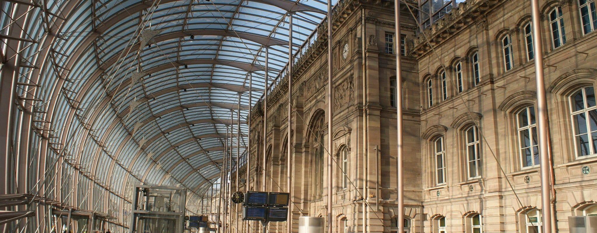 Magasins agrandis, terrasses et restaurant haut de gamme… La future gare de Strasbourg sera un centre commercial