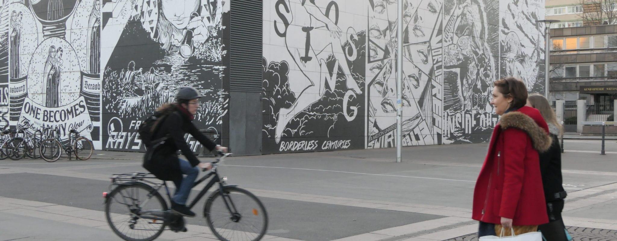 Se déplacer est un combat pour les Strasbourgeoises à pied, à vélo ou en tram…