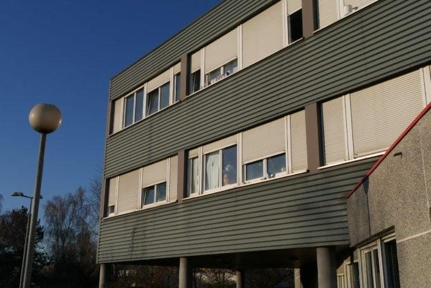 L'immeuble de bureaux était inoccupé depuis plusieurs années