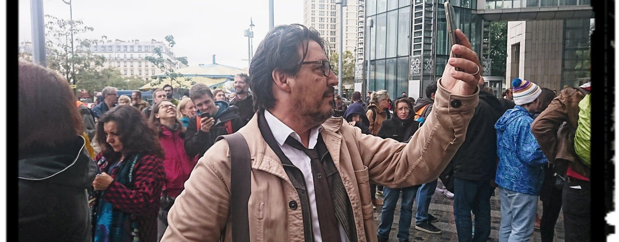 David Dufresne: «Le tir de LBD sur Lilian fait partie des moments de bascule»