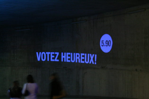 votez heureux (Photo Thomas Guinard / FlickR / cc)