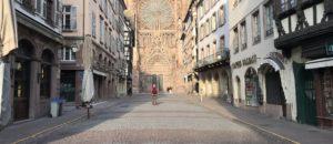 Face au reconfinement, la Ville de Strasbourg assure un accès aux parcs et aux services publics