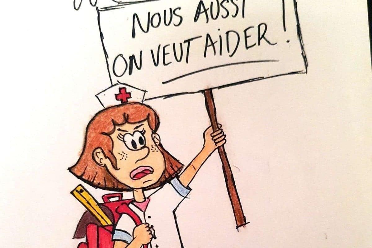 Les infirmières scolaires peuvent désormais soutenir le personnel des hôpitaux et des Ehpad