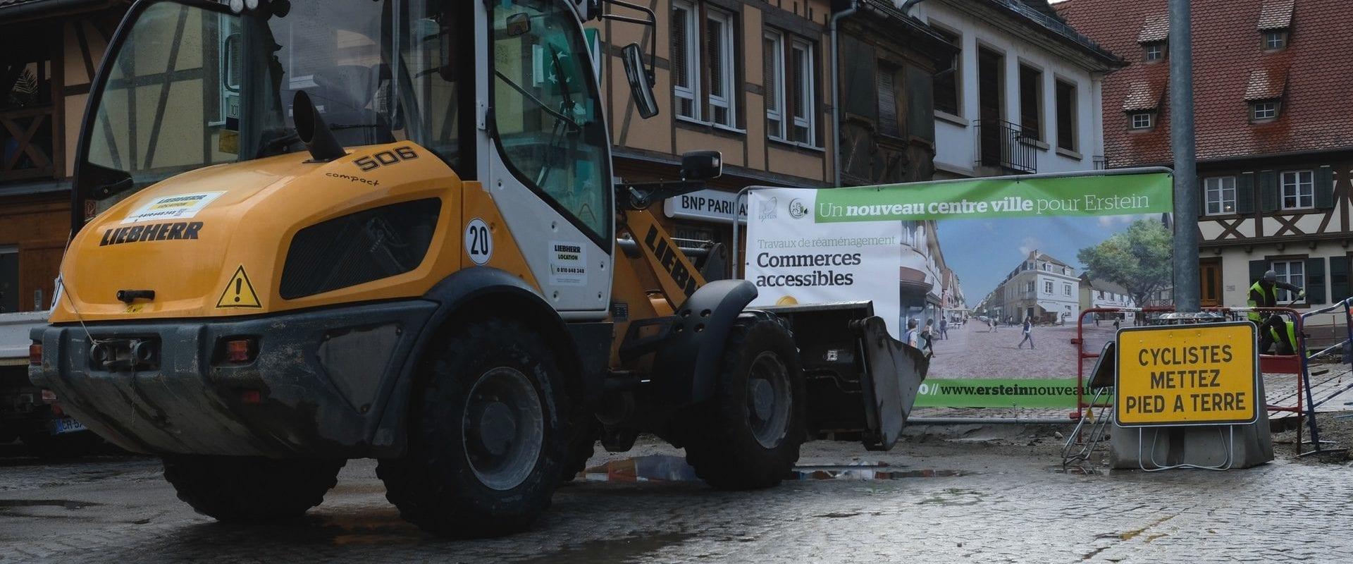 À Erstein, trois candidats et une obsession: éviter la mort du centre-ville
