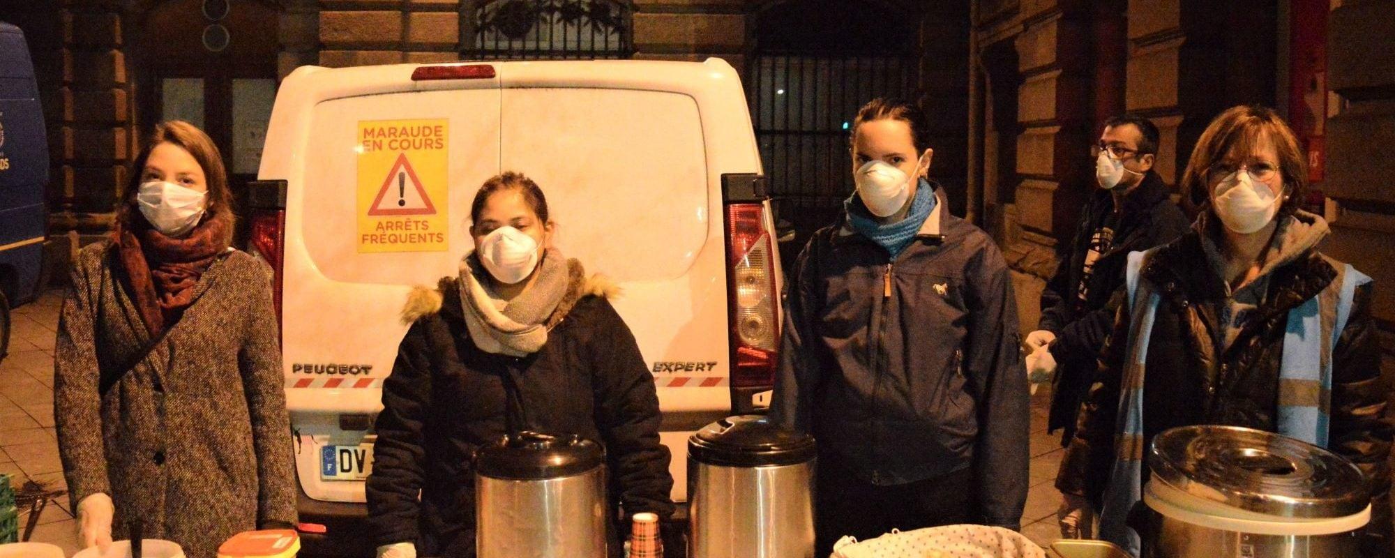«On n'oubliera pas les sans-abris», les associations strasbourgeoises mobilisées pendant la pandémie