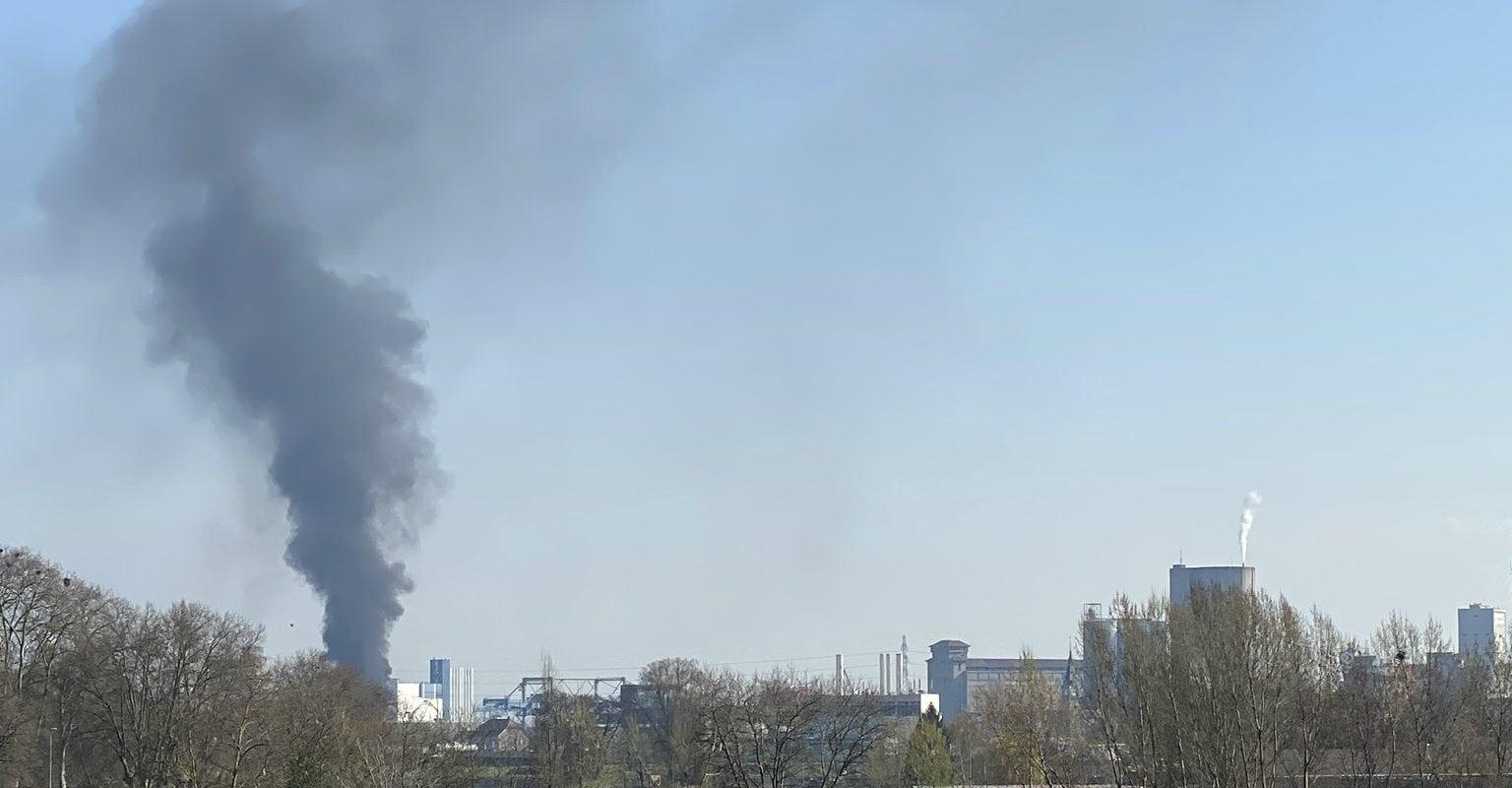 Incendie maîtrisé au terminal nord du Port de Strasbourg