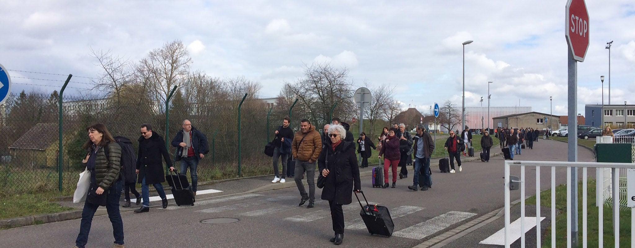Alerte à la bombe : l'aéroport d'Entzheim évacué