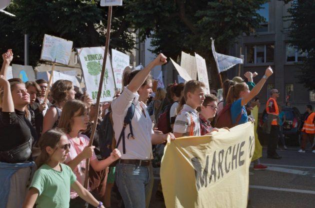 En septembre 2019, la Marche pour le climat a mobilisé plusieurs milliers de personnes à Strasbourg (Photo Elis Nappey / FlickR / cc)