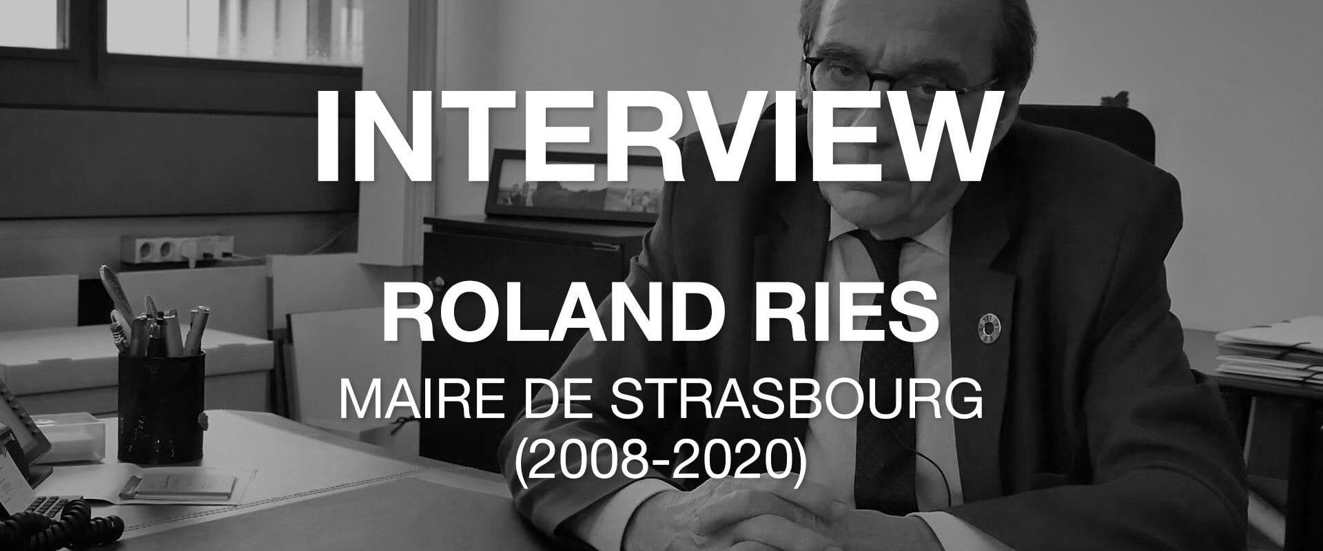 Roland Ries et son bilan: «j'aurais aimé créer une région à double culture»