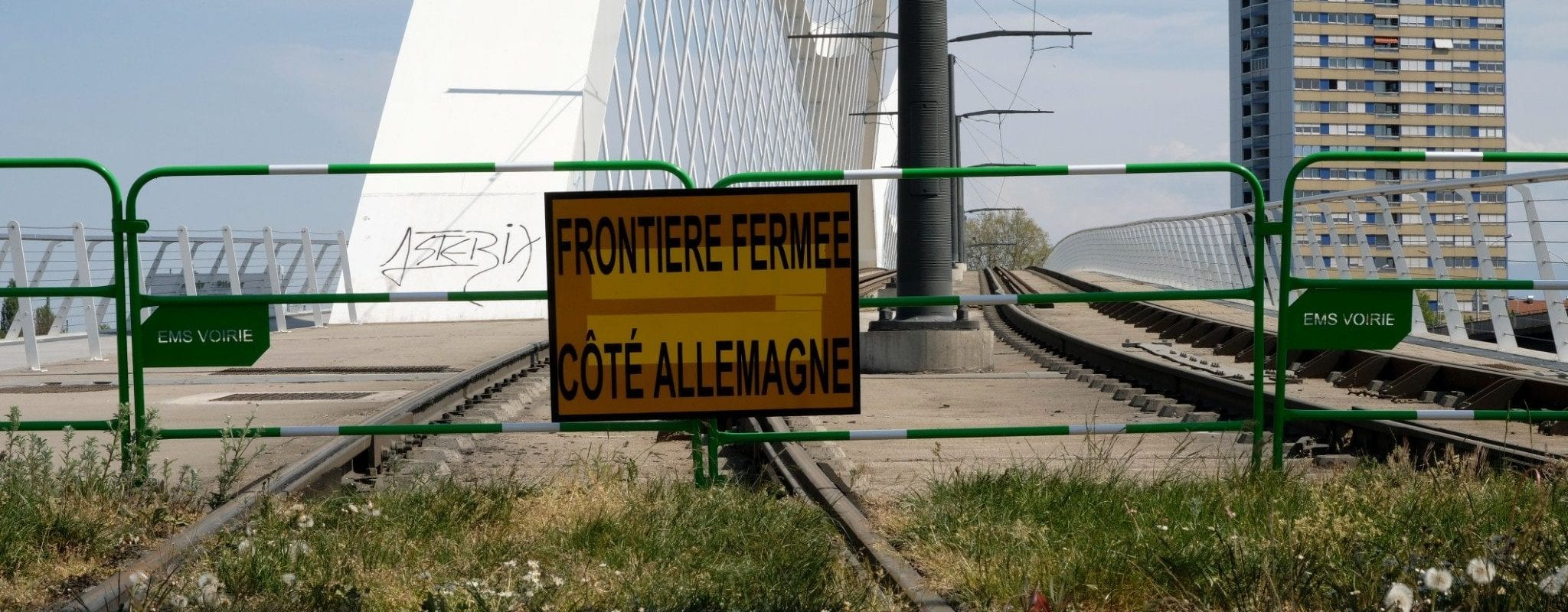 En Alsace, le retour de la frontière fait craindre la «fin d'un espace commun»