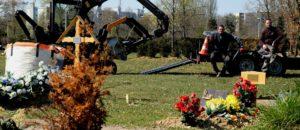 Strasbourg et Mulhouse risquent de manquer de place pour les cercueils avant inhumation
