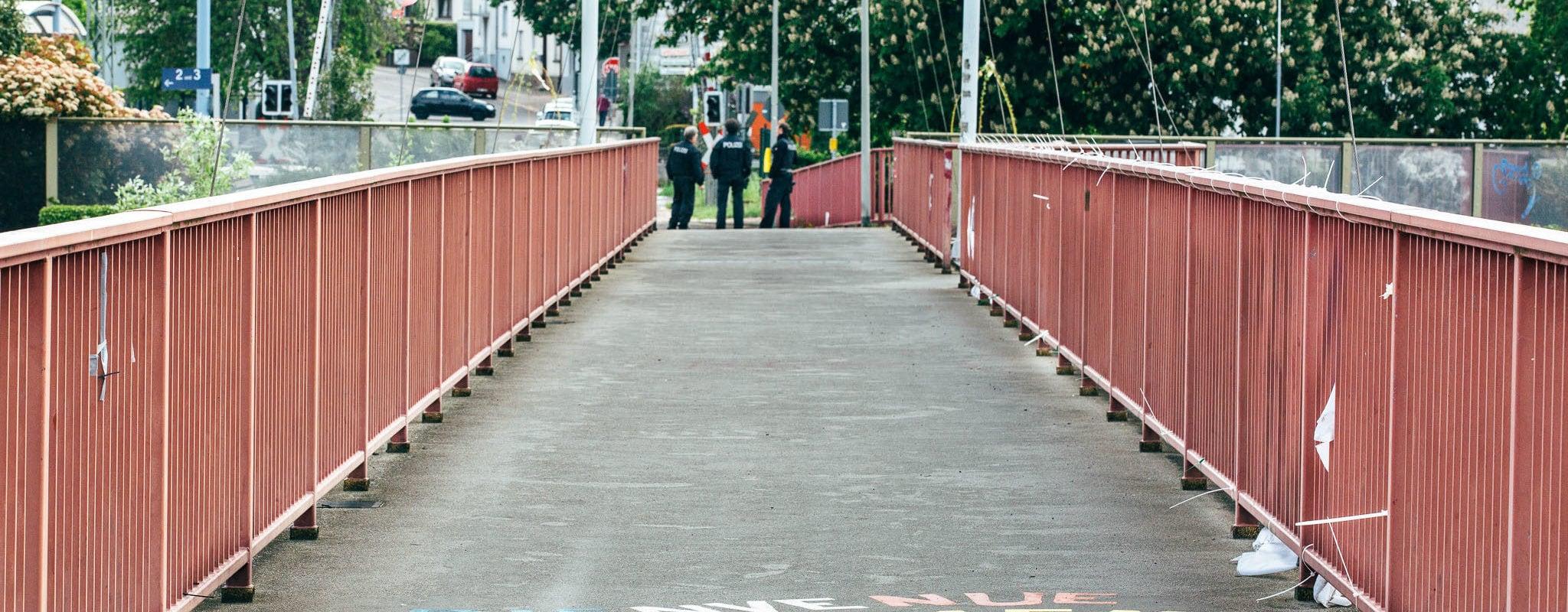 Grosbliederstroff séparée de Kleinblittersdorf, le coronavirus a fermé le «pont de l'Amitié»