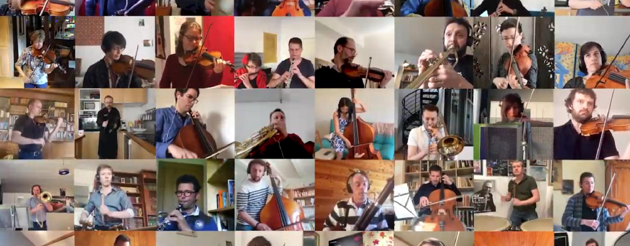 Se confiner en musique avec l'Orchestre philharmonique