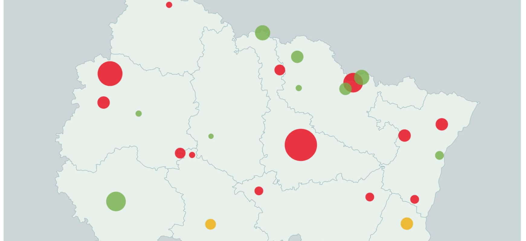 Fermeture de lits: le lourd tribut de la réanimation dans le Grand Est