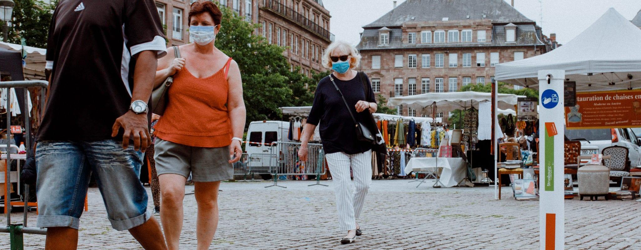 Le tribunal administratif suspend l'arrêté sur les masques au centre-ville