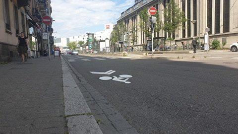 Pour le déconfinement, Strasbourg prête 2 kilomètres aux cyclistes