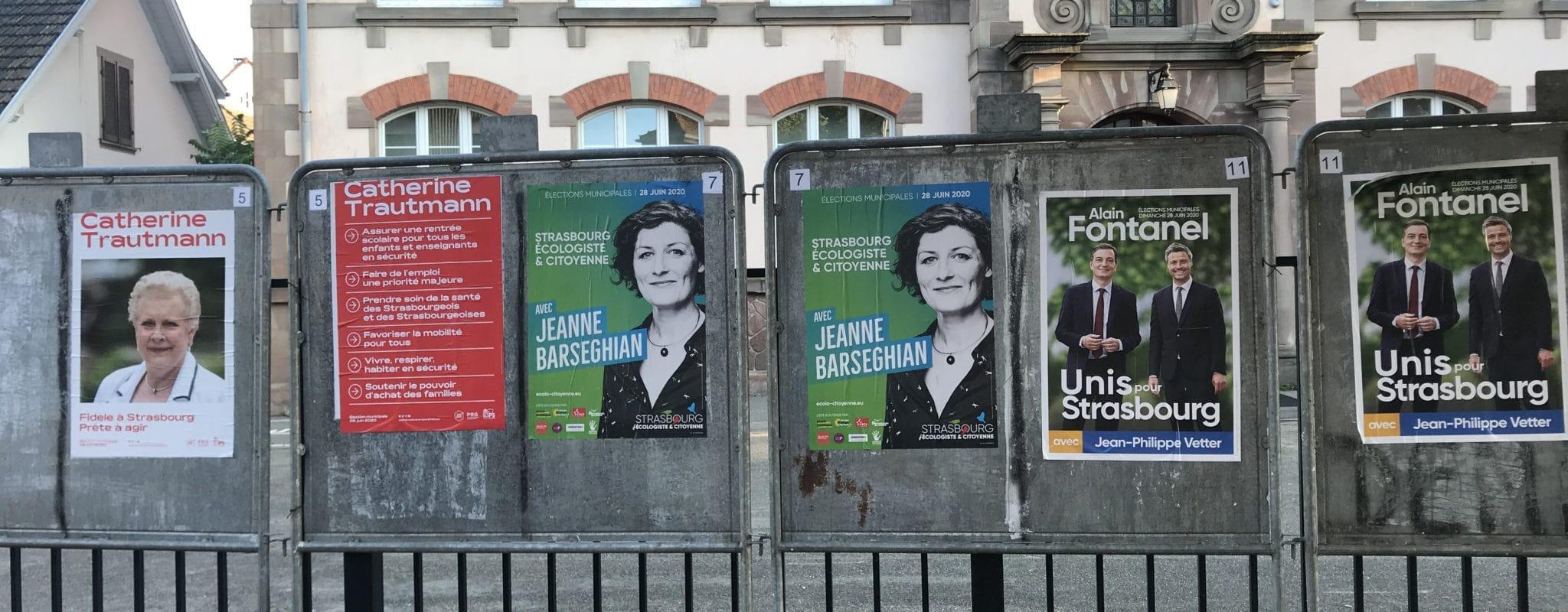 Pourquoi la campagne électorale intéresse si peu les Strasbourgeois