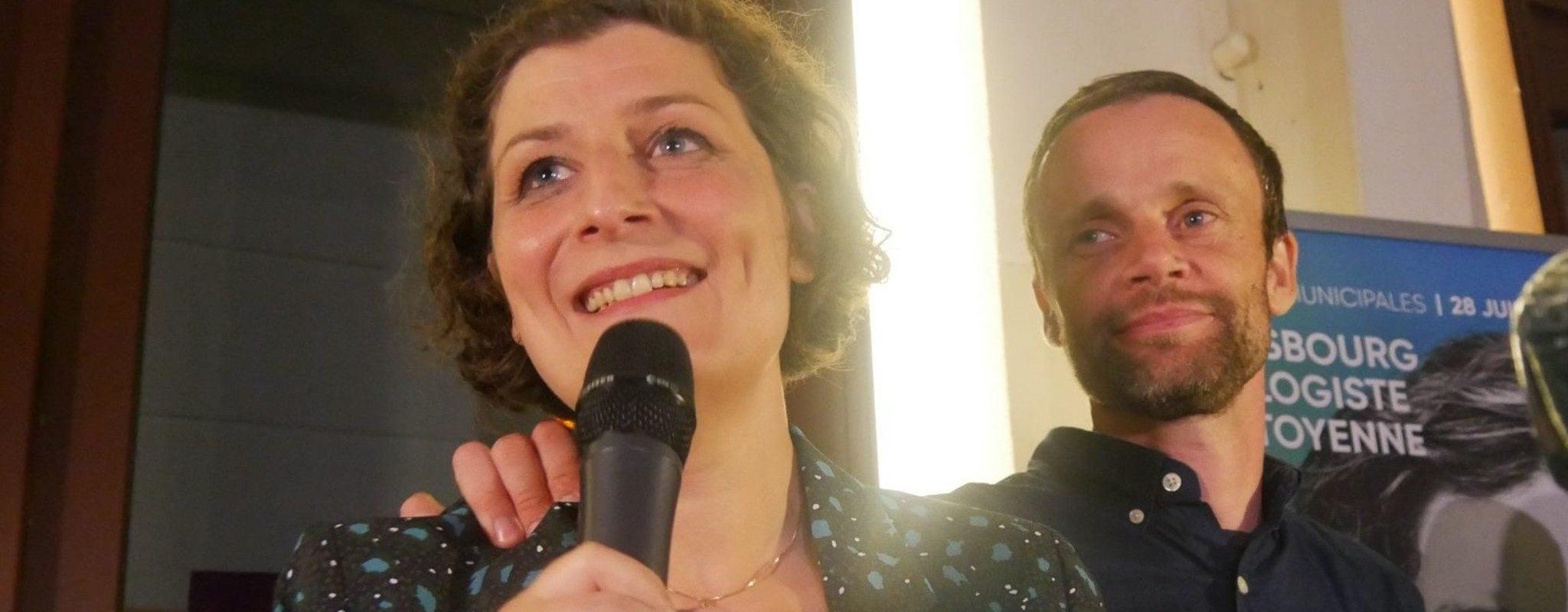 Jeanne Barseghian future maire de Strasbourg