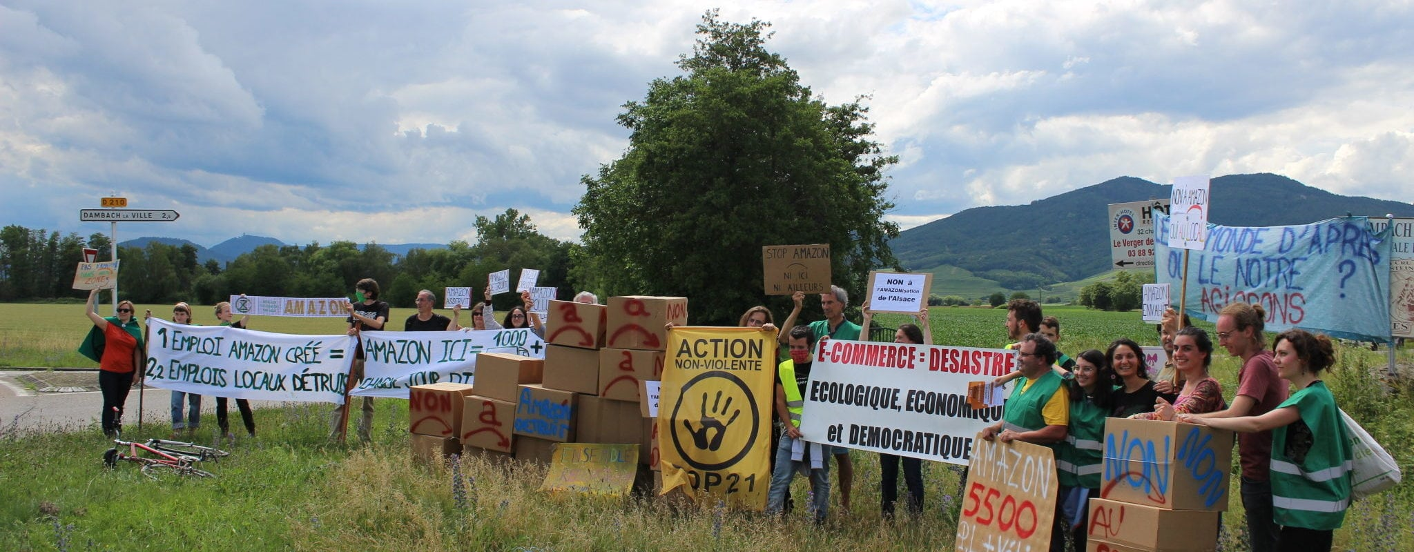 À Barr, première manifestation contre Amazon samedi 11 juillet