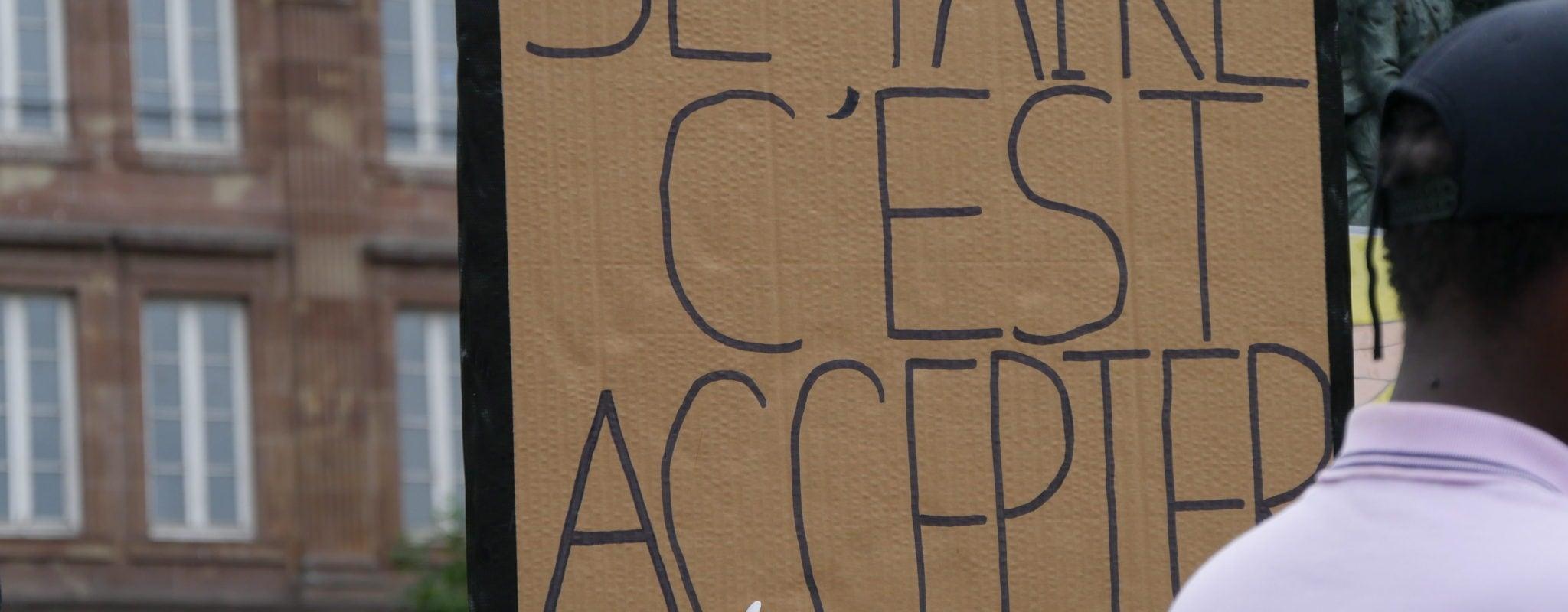 Sixième manifestation pour le retrait de la loi de sécurité globale