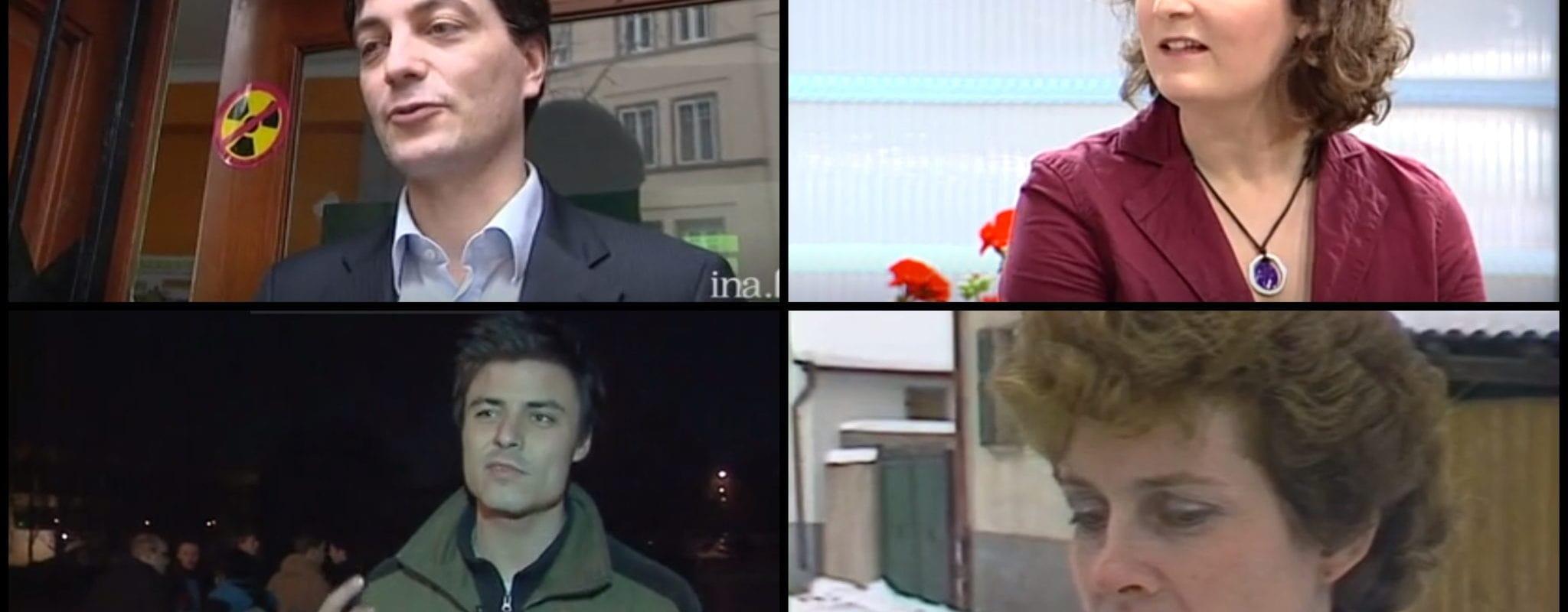 Municipales: Quand les candidats passaient pour la première fois à la télévision