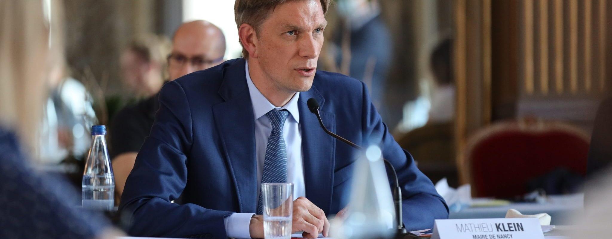Cinq choses à savoir sur Mathieu Klein le maire de Nancy