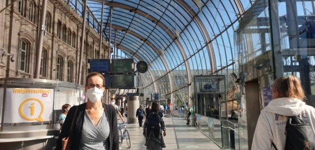 Mais pourquoi… a-t-on mis sous bulle la gare de Strasbourg?