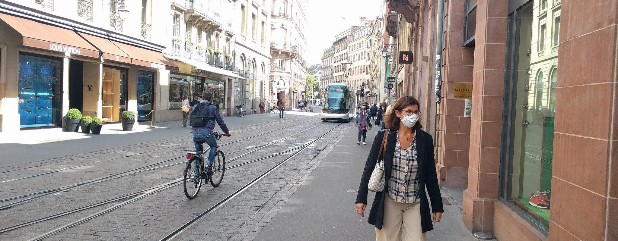 Le port du masque reste obligatoire à Strasbourg, partout et tout le temps