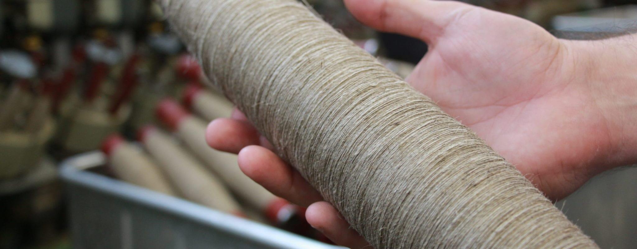 Dans le Sundgau, Velcorex proche de relocaliser la filature du lin français