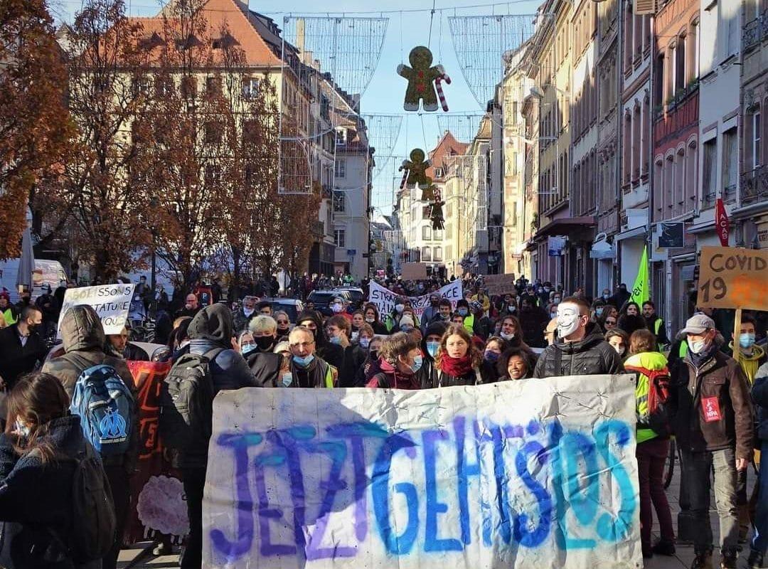 Manifestation contre la loi de «sécurité globale» samedi