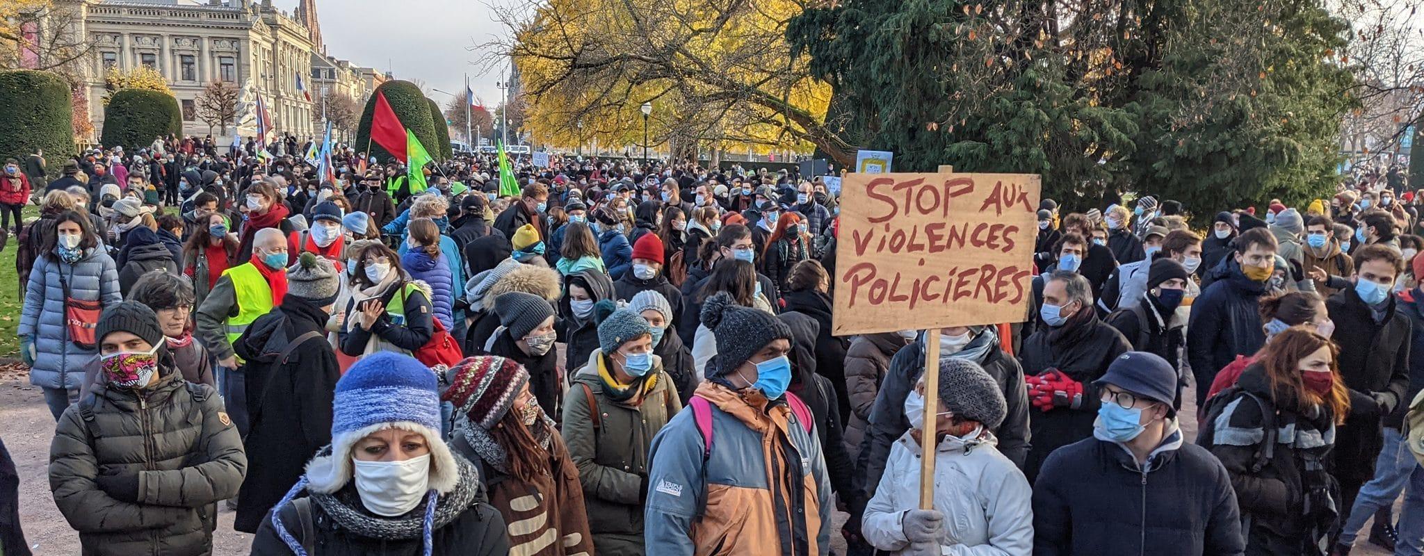 Dixième manifestation contre la loi «sécurité globale» ce samedi