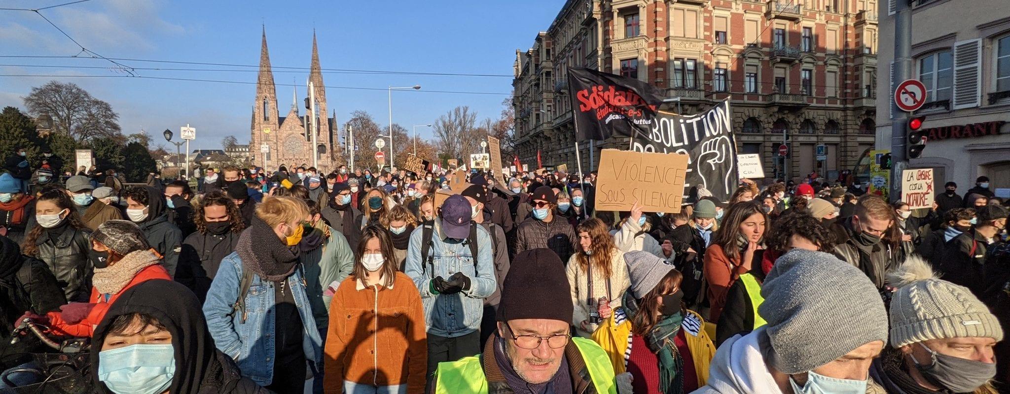 Samedi, huitième manifestation contre la loi de Sécurité globale