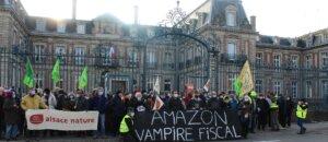 À Ensisheim, un rassemblement festif et revendicatif de 11h à 15h contre l'arrivée d'Amazon