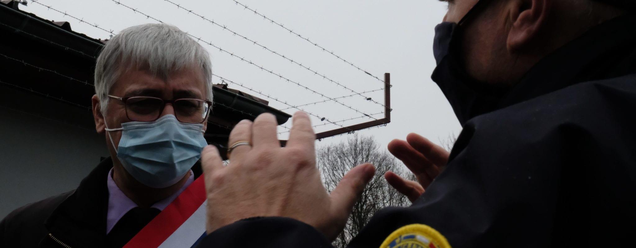 Le sénateur Jacques Fernique en visite surprise au centre de rétention administratif de Geispolsheim