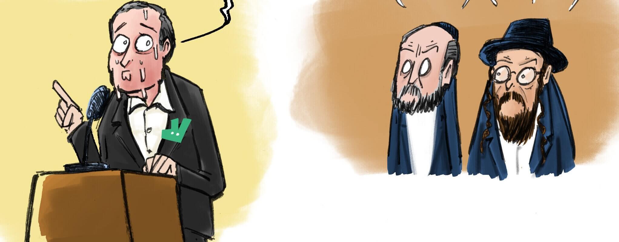 Antisémitisme : Deliveroo dans la sauce