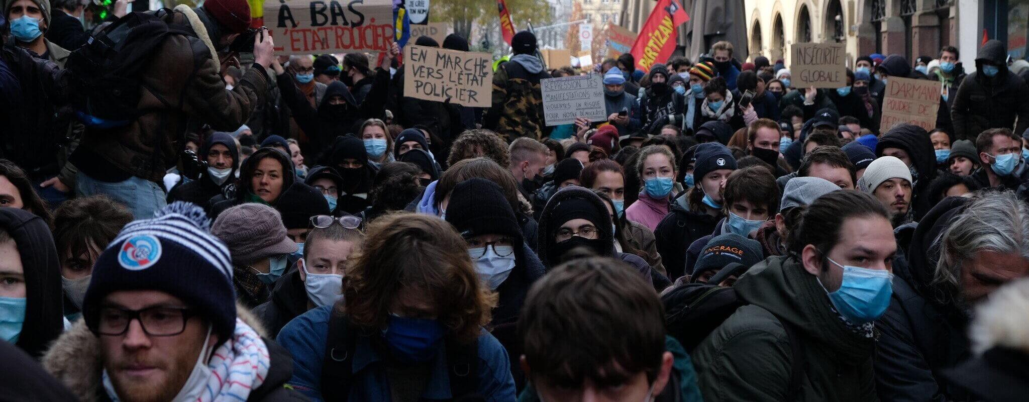 Septième manifestation contre la loi «sécurité globale» samedi