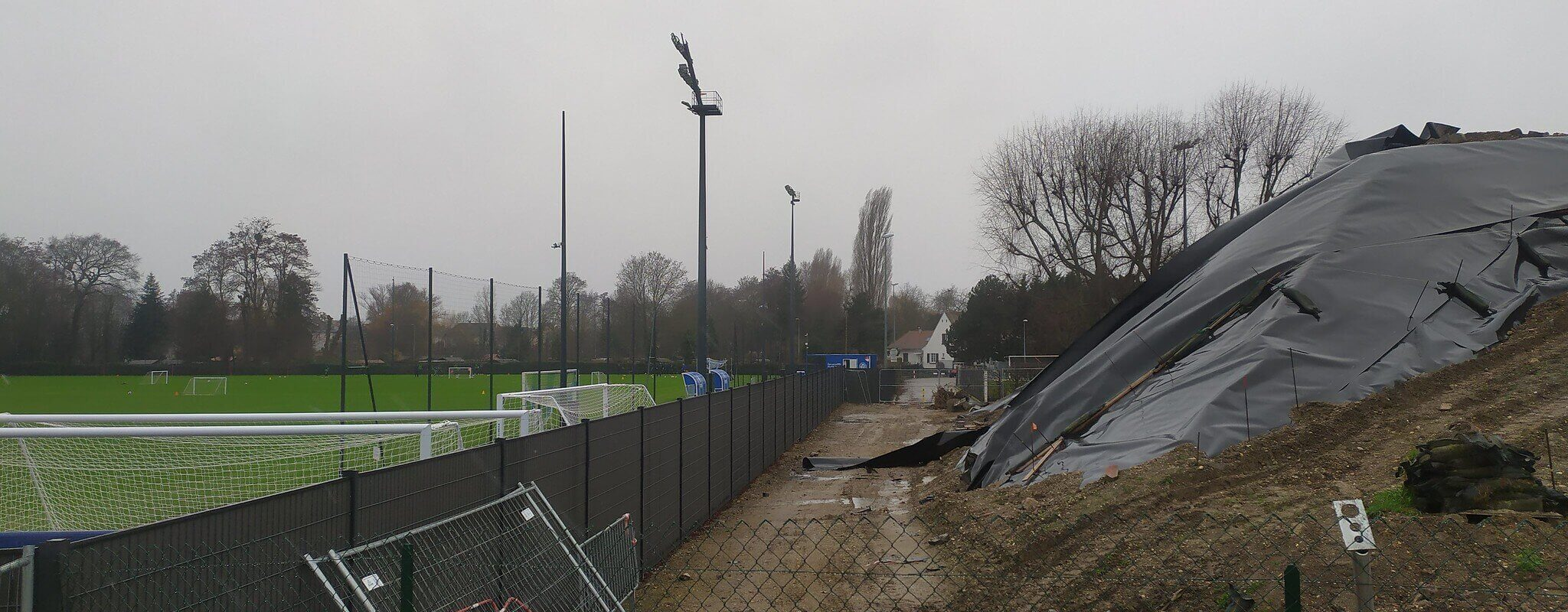 Presque oubliée de tous, une piste cyclable coupée pour le centre d'entrainement du Racing bientôt rouverte