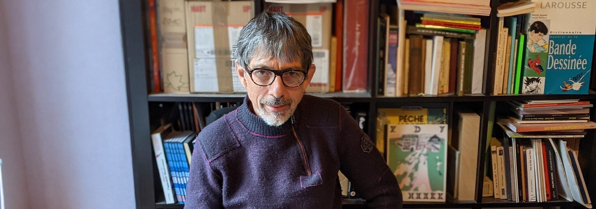 Joseph Béhé, auteur de BD: «On croit être maître de nos croyances, mais pas du tout»