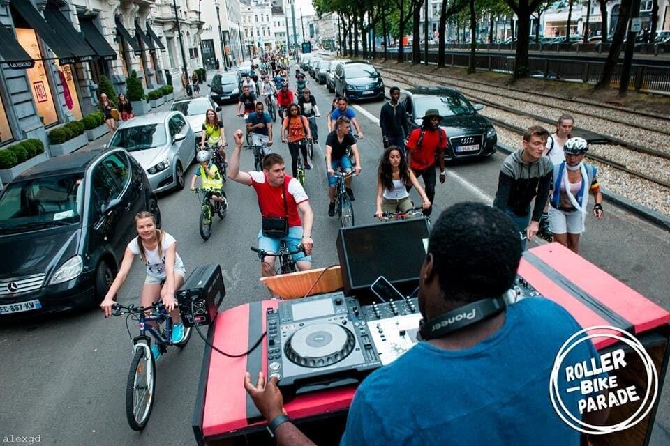 Une techno-parade à vélo, «covid compatible» samedi