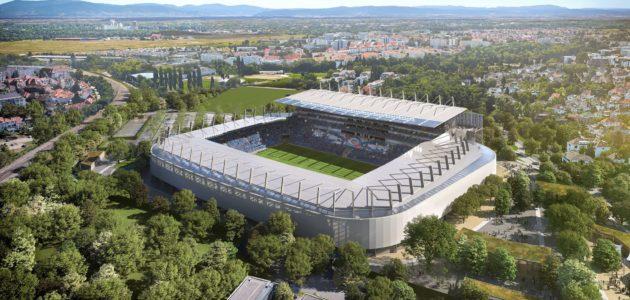 Les nouvelles tribunes pour le stade de la Meinau dévoilées