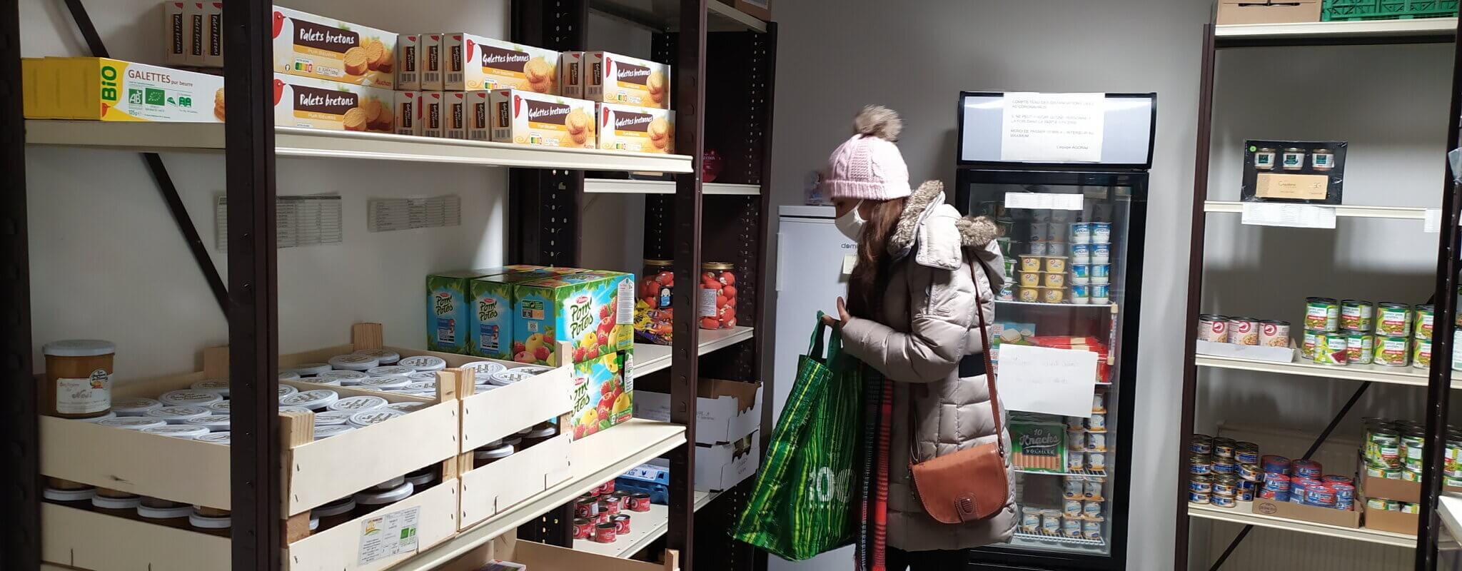 L'épicerie sociale, «une aide extraordinaire» pour 200 étudiants