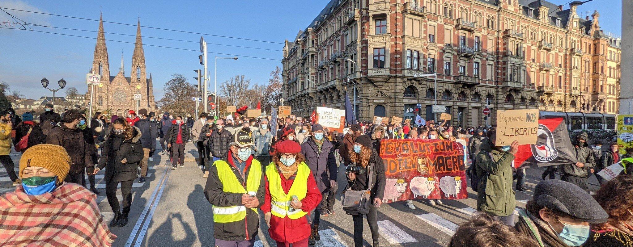 Une manifestation de 24h ce week-end pour protester contre les mesures sécuritaires et sanitaires