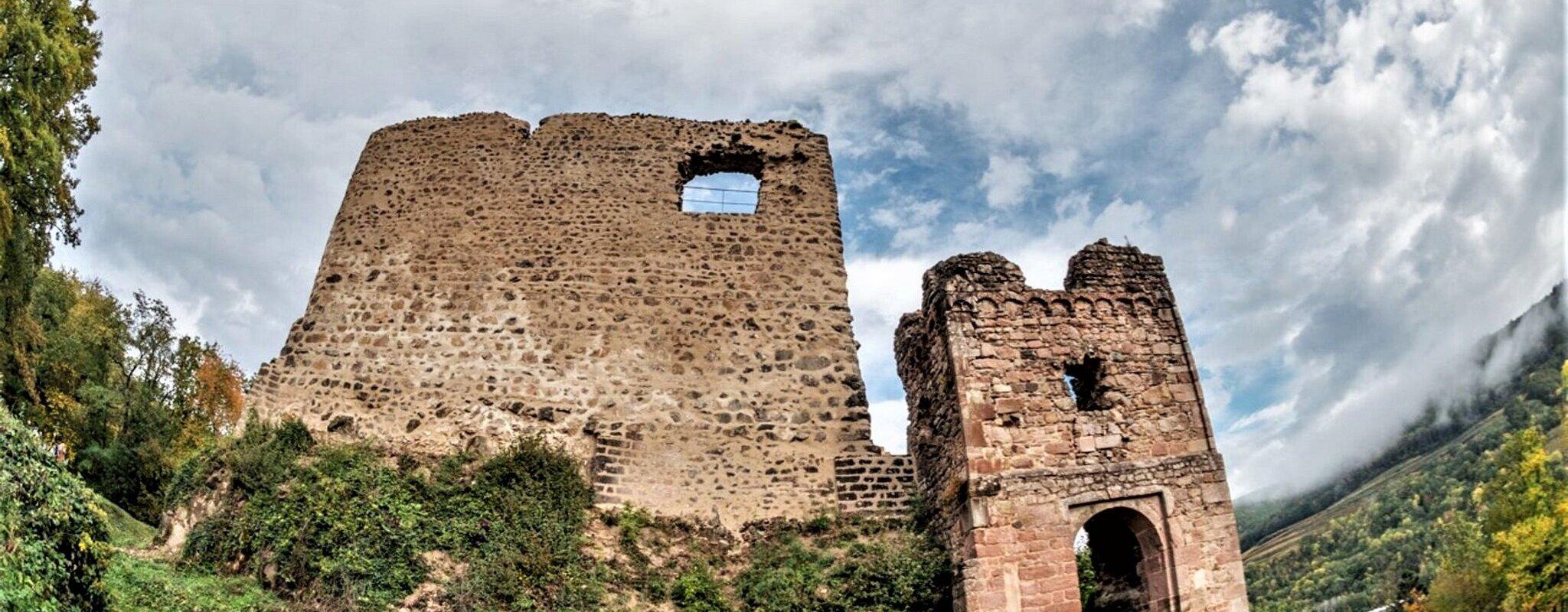 Les 26 étapes du chemin des châteaux forts d'Alsace numérisées