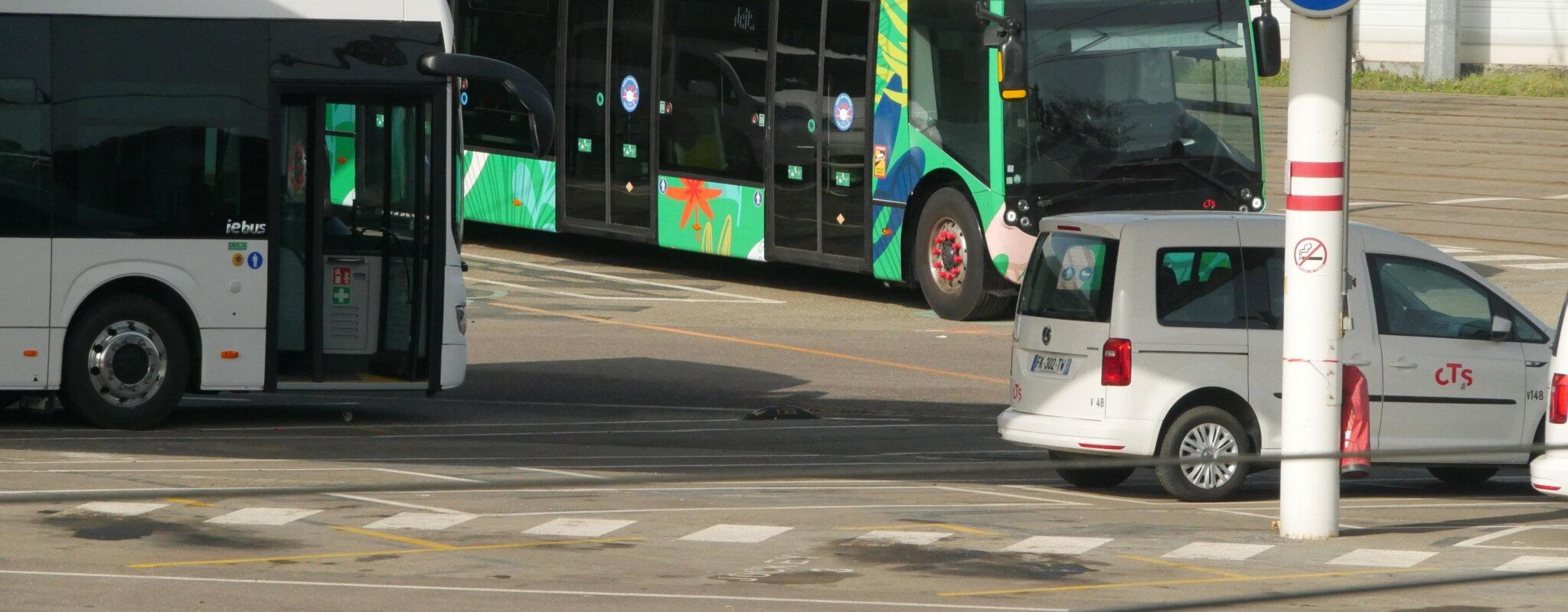 La CTS contrainte de se passer de ses bus Alstom électriques tout neufs