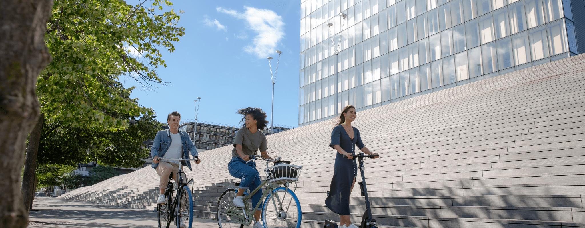 Dès avril, l'entreprise hollandaise Swapfiets louera des vélos et des trottinettes électriques à Strasbourg