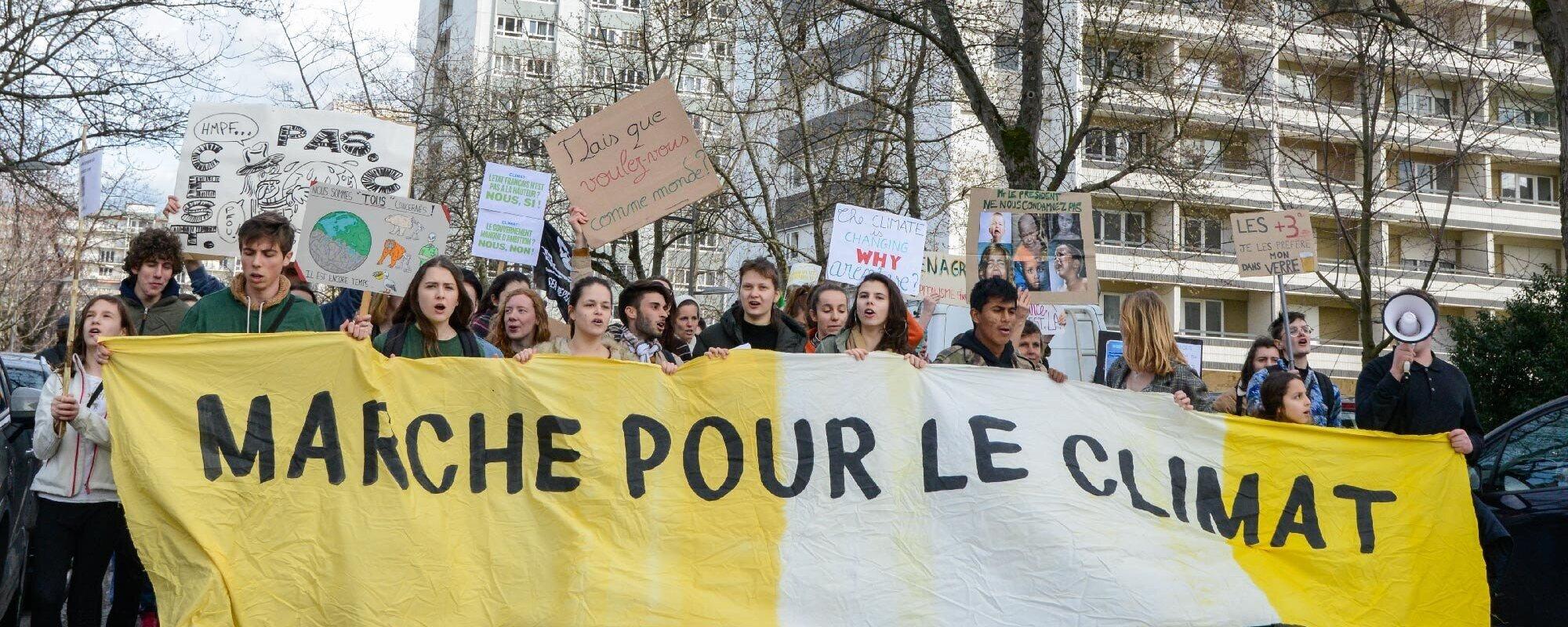 Une marche pour «une vraie loi climat» dimanche