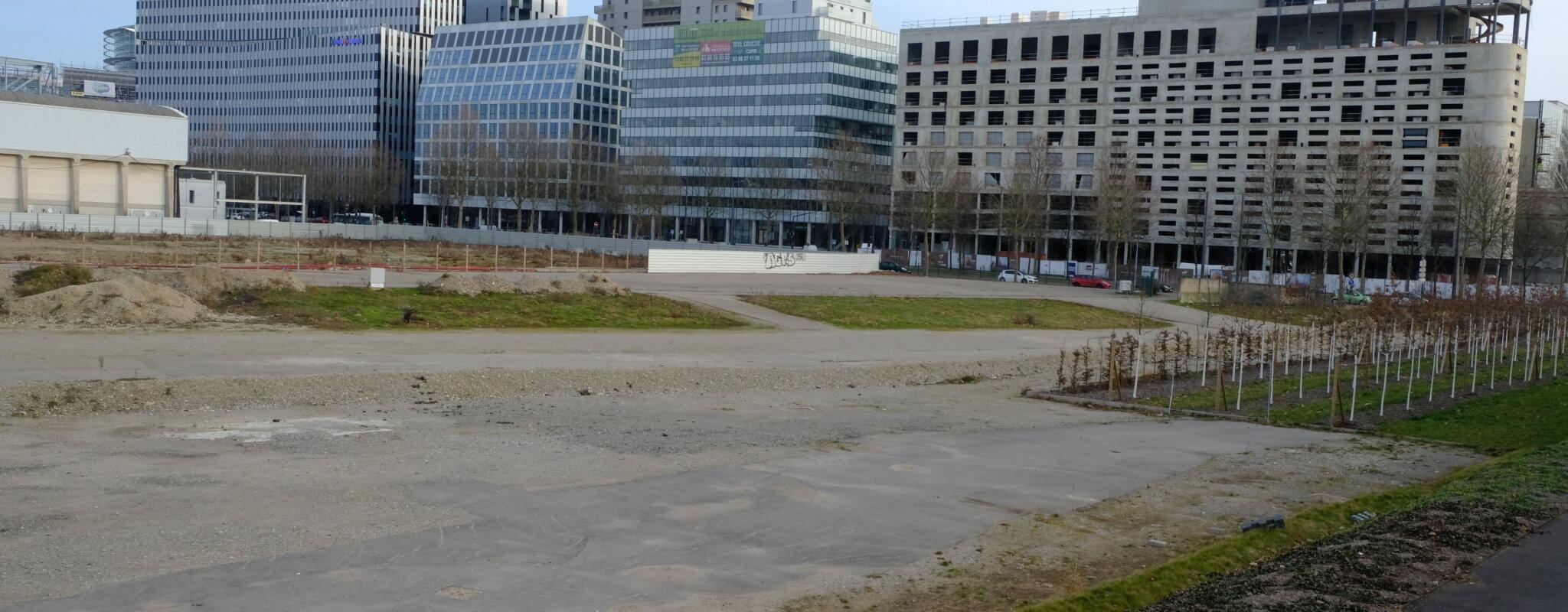 D'une cité-jardin aux tours ultramodernes: le quartier Wacken en pleine mutation
